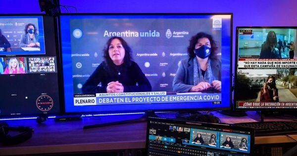 Vizzotti e Ibarra defendieron el proyecto que fija restricciones sanitarias