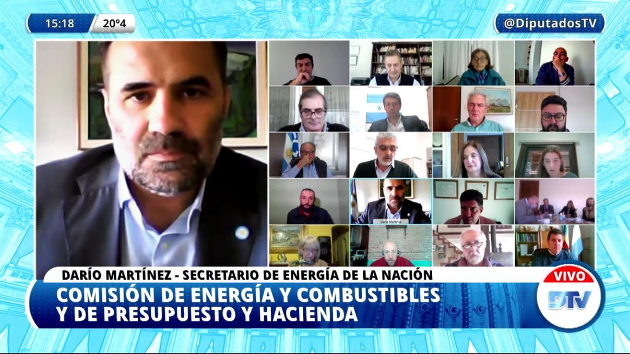 """Martínez dijo en Diputados que el proyecto del FdT """"brinda previsibilidad"""""""