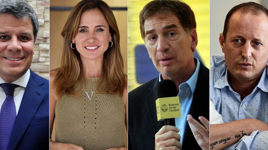Tolosa Paz, Santilli, Manes y Randazzo, los candidatos bonaerenses